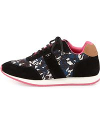 Tory Burch Pettee Printed Trainer - Lyst