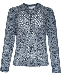 3.1 Phillip Lim Mesh Stitch Sweater - Lyst