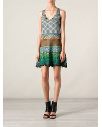 Missoni Embroidered Dress - Lyst