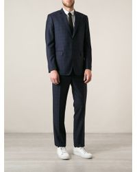 Paul Smith Tonal Check Suit - Lyst