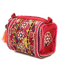 Star Mela Jui Cosmetic Bag Red - Lyst