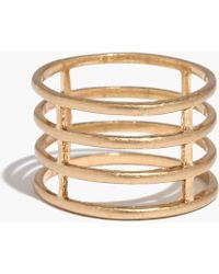 Madewell Timespan Ring - Lyst