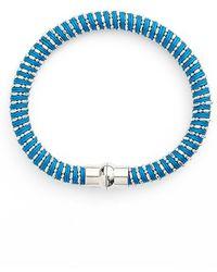 Nu Brand - Beaded Bracelet - Sapphire - Lyst