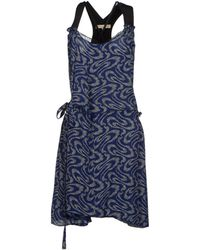 Vanessa Bruno Short Dress - Lyst