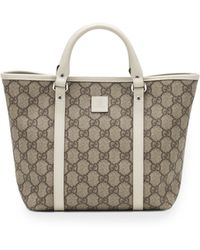 Gucci Gg Supreme Canvas Kids Tote Bag - Lyst