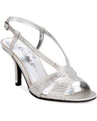 Rampage Fashika Mid-Heel Dress Sandals - Lyst