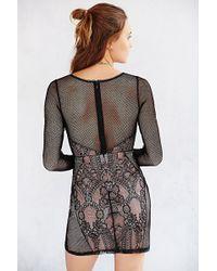 Cooperative - Mini Bodycon Dress - Lyst