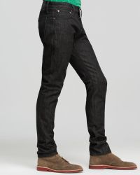 Jack Spade Jeans Selvage Slim Fit in Black - Lyst