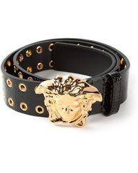 Versace Medusa Ring Belt - Lyst
