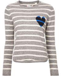 Chinti & Parker Striped Sweater - Lyst