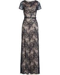 Catherine Deane   Floor-length Lace Gown - Blue   Lyst