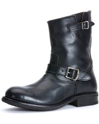 Frye Sutton Leather Engineer Boot - Lyst