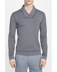 Calibrate 'Kruz' Reversible Shawl Collar Pullover - Lyst