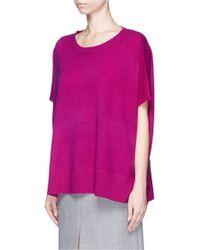 Diane von Furstenberg | 'essex' High-low Cashmere Sweater | Lyst