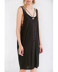 Truly Madly Deeply - Numeral Lines Tank Dress - Lyst
