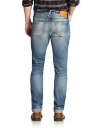 Jack Spade - Straight-leg Selvage Jeans - Lyst