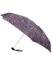 Missoni Mini Printed Telescopic Umbrella in Matching Case - Lyst