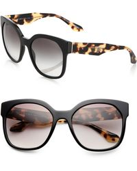Prada Squared 57Mm Cat'S-Eye Sunglasses - Lyst
