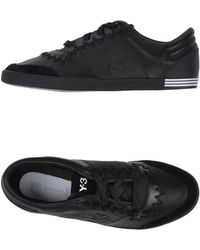 Y-3 Low-tops  Trainers - Lyst