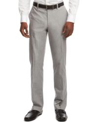 Kenneth Cole Reaction Slim Fit Dress Pants - Lyst