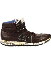 Premiata Shoes Adam Ankle Boots Leather - Lyst