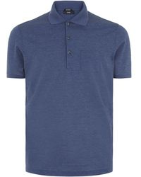 Boss Black T-perry Silk Polo Shirt - Lyst
