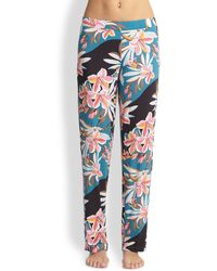 Cosabella Ibis Stretch Jersey Pajama Pants - Lyst