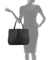 Cynthia Vincent - Linear Quilted Tote Bag - Lyst