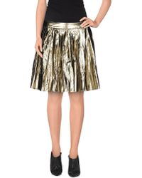 Lucy Paris - Mini Skirt - Lyst