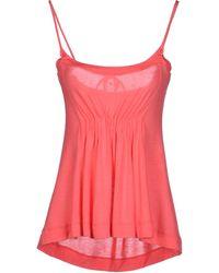 Celine Pink Top - Lyst