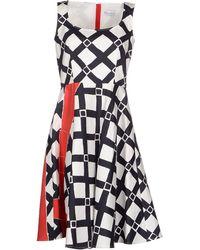 RED Valentino Knee-Length Dress - Lyst