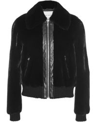 Sonia Rykiel Mink Fur Waist-Length Jacket - Lyst