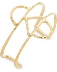 Odette New York - Crescent Cuff Bracelet - Lyst
