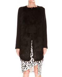 Keepsake Change My Mind Faux Fur Coat in Black - Lyst