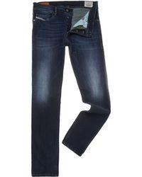 Diesel Tepphar 814w Carrot Dark Wash Jeans - Lyst