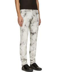 Marc By Marc Jacobs Black Acid Wash Jeans - Lyst