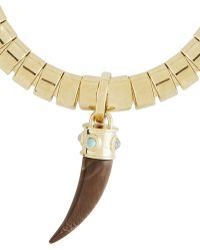 BCBGMAXAZRIA Faux-Horn Chain Necklace - Lyst