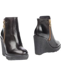 Moncler Ankle Boots - Lyst