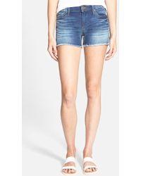 True Religion 'Keira' Cutoff Shorts - Lyst
