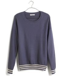 Madewell Blue Vacay Sweater - Lyst