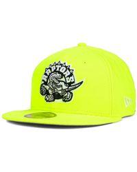 New Era Toronto Raptors Back To Basic 59Fifty Cap - Lyst