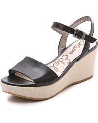 Sam Edelman Reeves Wedges - Lyst