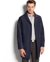 Calvin Klein Park Single Breasted Rain Coat - Lyst
