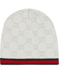 Gucci Logo-detailed Hat - Lyst