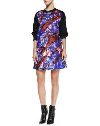 Risto - Redwoods Front-zip Miniskirt - Lyst