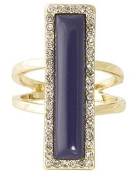 House of Harlow 1960 - Illuminating Rectangle Ring - Lyst
