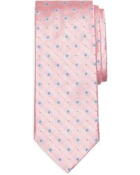 Brooks Brothers Flower and Dot Tie - Lyst