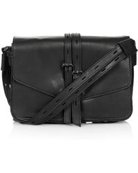 Topshop Premium Leather Crossbody Bag - Lyst
