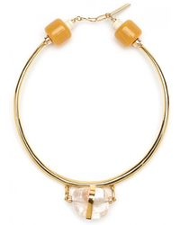 Lizzie Fortunato Golden Rule Necklace - Lyst