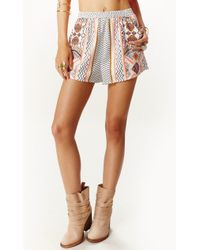 MINKPINK Space Cowboys Shorts - Lyst
